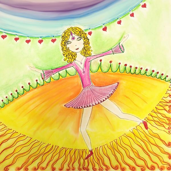 Intuitives Malen Erneuerung keltisches Sommerfest