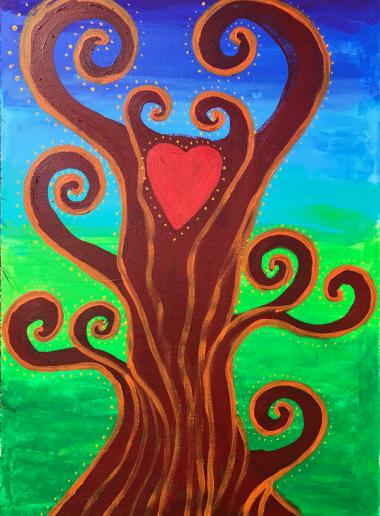 Kunsttherapie Ausbildung Intuitives Malen