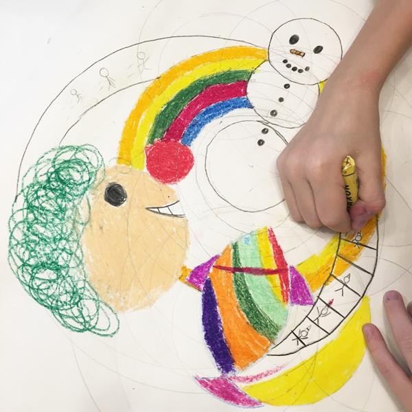 Ausbildung KT Intuitives Malen Übungen Beispiele