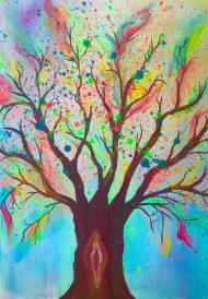 Heilsame Bäume Malkurs Wochenende