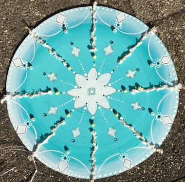 Mandala-4-türkis