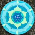 Mandala-9-türkis